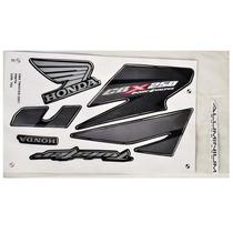 Kit Adesivos Cbx250 Twister 250 2007 Preta