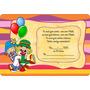 Convite Simples Infantil Aniversário Patati Patata
