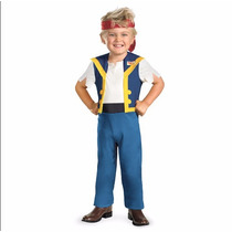 Disfraz Jake El Pirata Original Disney Perfecto