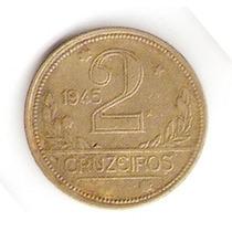 Moedas Antigas - 2 Cruzeiros 1945