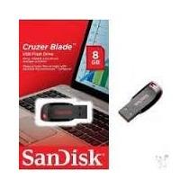 Pendrive Sandisk 8gb Cruzer Blade Original Lacrado