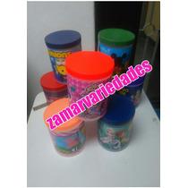 Cotillones Potes Plastico Personalizados