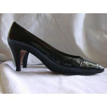 Zapatos De Vestir Para Dama Todo Cuero Hecha Aleman
