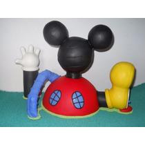 La Casa De Mickey Mouse En Porcelana Fría Da 25 Cm