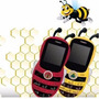 Aoc Kids Phone Abejita Dual Sim 0.8mp Tarjeta 1gb Mp3 Caja