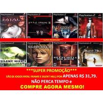 Fatal Frame, Kuon Playstation 2 (kit 8 Jogos Ps2 Silent Hill