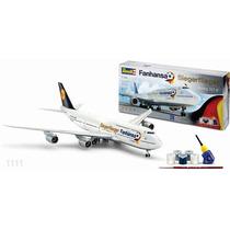 Revell Avion Boeing 747 8 Fanhansa 1/144 Armar Con Todo !