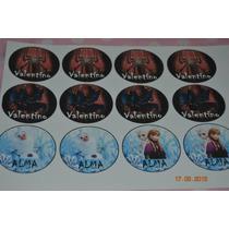 Plancha De Stickers Para Golosinas Personalizados