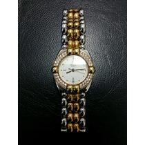 Relógio Chopard Feminino, Cravejado De Brilhantes