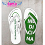 Chinelo Personalizado, Formatura Medicina Verde - Cod 2827