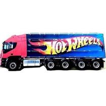 Caminhão Carreta Expositor Para Miniaturas Hot Wheels