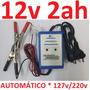 Carregador Bateria 12v 2a Automotiva Biv. Auto Carro Moto Sc