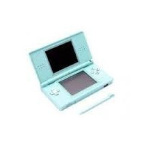 Video Game Nintendo Ds Lite Portatil Usg-001-01-kor Ice Blue
