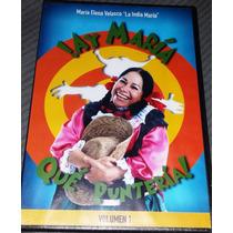 Dvd Comedia La India Maria !ay Maria Que Punteria! Tampico