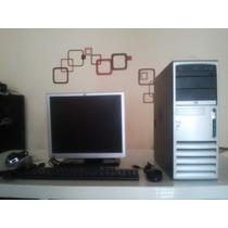Computador Hp Pentium 4 Dc7600 Monitor 17 Teclado Mouse Nvid