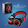 Audifono Energy System Dj700 Black/red Porta Edit Itelsistem