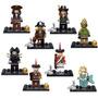 Lego Compatible, Piratas Del Caribe Incluye Las 8 Pz + Envió