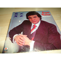 Lp Jose Jose Autografiado Super Exitos Vol 1 De Colección