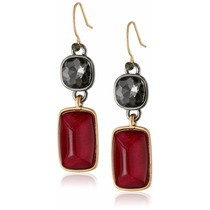 Kenneth Cole New York Aretes Y Pulsera Color Rojo