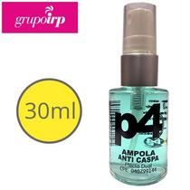 Ampolla P4 Anti Caspa De 30ml Para El Cabello Elimina Caspa