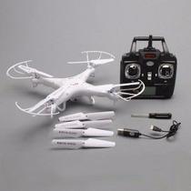 Drone Syma X5c Explorers. Doble Bateria Y Helices!!!