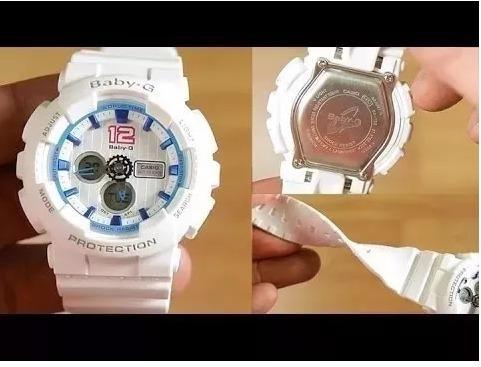d840cb4ec91 Relógio Casio Baby-g Anadigi Bga-180-bga190-ba120 6 Modelos - R  299 ...