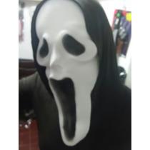 Mascara Goma Eva Scream Obras Jodas Fiestas Chascos Decoraci