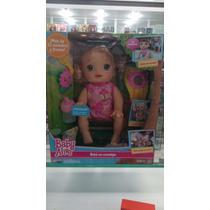 Boneca Baby Alive Hora Passeio Loira Hasbro