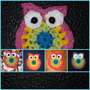 Buhos A Crochet Apliques Para Ropa, Deco