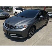 Honda Civic Ex-l Sr At 1.8 Ct Tc 2013