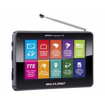 Navegador Gps 4.3 Com Tv Digital 2500 Cidades Navegáveis