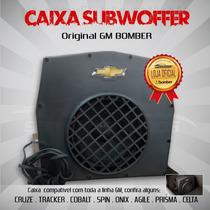 Caixa Subwoofer Bomber - Original Gm Celta Onix Agile Cruze