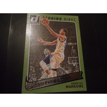 2015-16 Panini Donruss Scoring Kings Canvas Stephen Curry Gs