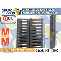 Organizador Vertical 35`` Cerrado Front/back Qnet Plastico