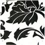 Papel Contact ( Auto-adesivo / Parede) Floral P/b - 10 Mt