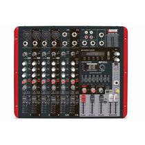 Consola Potenciada Novik 800p Usb 8 Canales 2400 Wts Envios