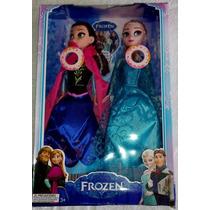 Pronta Entrega 2 Bonecas Do Filme Frozen Musical Anna E Elsa