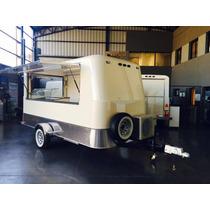 Nuevo Food Truck, Food Trailer De 4 M De Largo, Patentable