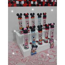 Souvenirs Mickey Minnie Tubos Golosineros Personalizados !!