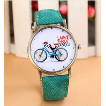 Relojes De Mujer Vogue Con Bicicleta