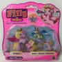 Filly Stars Glitter Figura Mas 3 Bebes Original Hasbro
