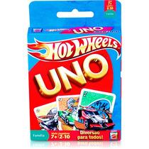 Jogo Uno Hot Wheels - Mattel