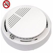 Pack X10 Sensor Detector De Humo Con Alarma Con Bateria 9v