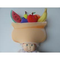 Gorro Goma Espuma Con Frutas O Verduras Cotillón