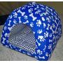 Cama Cachorro Gato Toca Iglu 40x40x34 (acompanha Almofada)