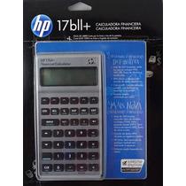 Calculadora Hp 17bii+ 250 Funções - Original + Capa Couro