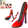Aparelho Telefone Fixo Residencial Formato De Sapato Com Fio