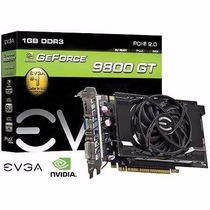 Placa De Video Gpu Geforce 9800 Gt Ddr3 1gb 256 Bits Evga