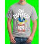 Camisetas Algodon Estampado Personalizado - Homero Duff