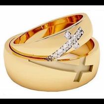 Argollas De Matrimonio Mod. Chretien Oro 14k Matrimoniales